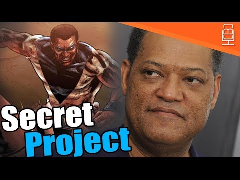 Secret Marvel Project in Development with Laurence Fishburne