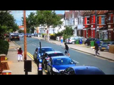 North West London Street Gang Fight