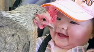 Babies Meeting for the first time With Animals Fails Videos - Funniest Home Videos