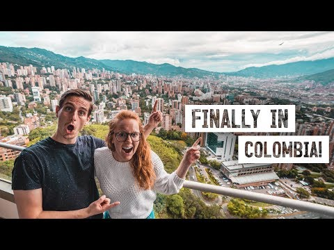 First Time to COLOMBIA! ✈️ New Country & Continent 🇨🇴 (Flying From Mexico to Medellin)