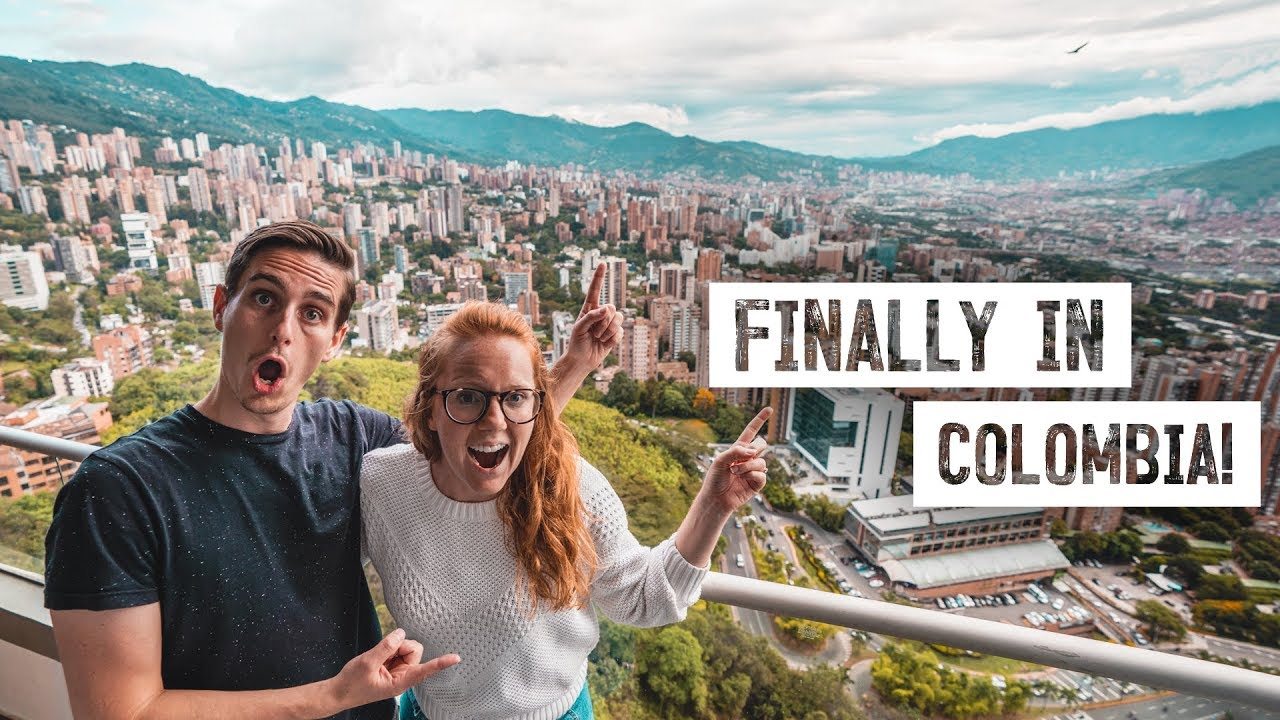 First Time To COLOMBIA! ✈️ New Country & Continent 🇨🇴 (Flying From Mexico  To Medellin) - YouTube