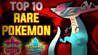 Top 10 Rare pokemons in Sword and Shield | In Hindi Pokevilla Z