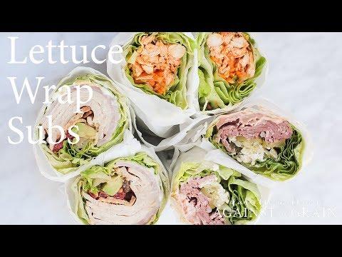 Lettuce Wrap Subs Recipe | Danielle Walker