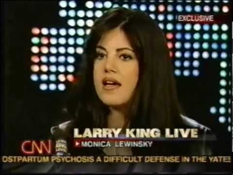 Monica Lewinsky on Larry King Live