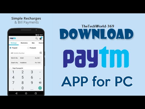 How To Download Paytm App On PC (windows 7/8/8 1)For Free ||*NEW*||2015 -  Tutorial