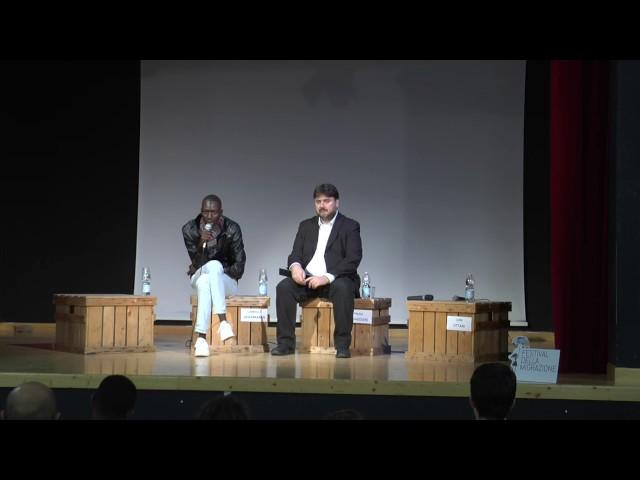 Festival della migrazione - intervento di Camara (Gambia)