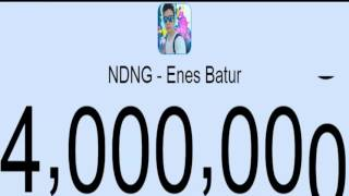NDNG - Enes Batur 4 Milyon Abone Oluşu