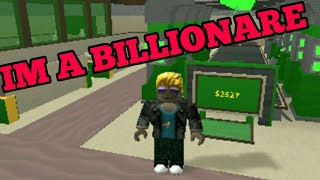 Roblox bank tycoon (my first roblox video)
