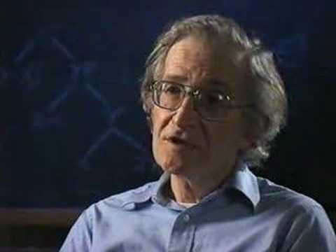 The Vision Thing - Chomsky v Marr Part 1/3