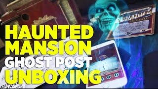 Unboxing Haunted Mansion Ghost Post #1 subscription - Phantom Radio & more! thumbnail