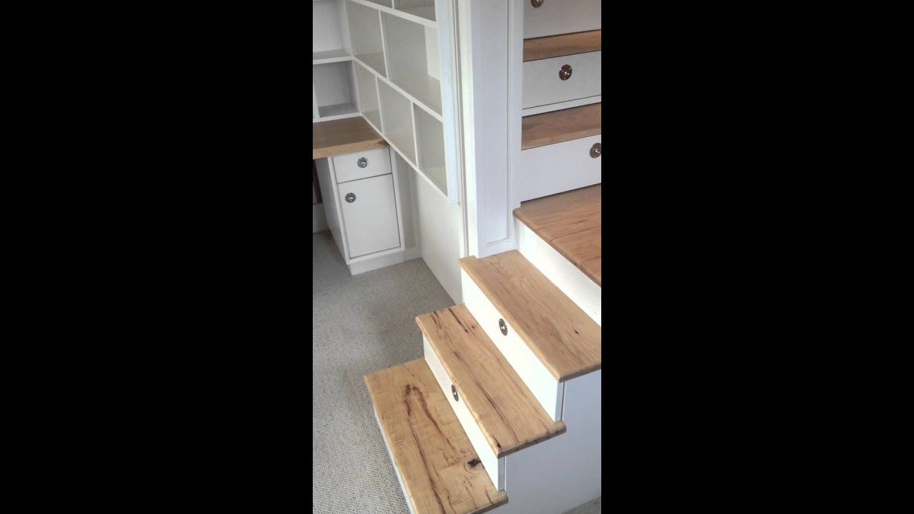 Loft Bed With Stairs Drawers Closet And Desk