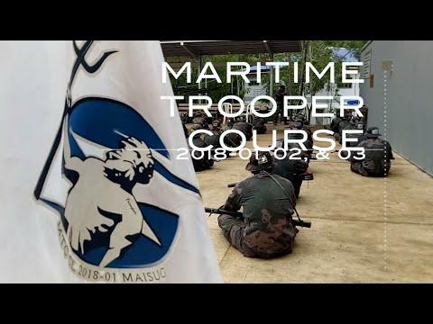 PNP MARITIME TROOPER COURSE CL 2018-01, 02 & 03 RIFLE EXERCISES
