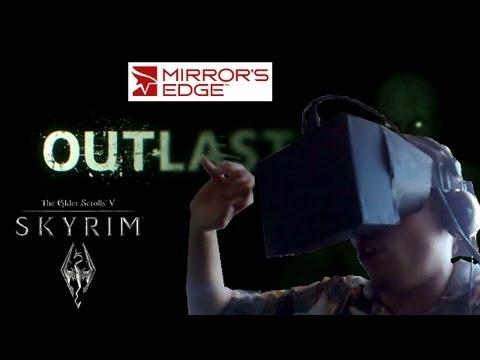 Mi Oculus Rift casero: Análisis y cagándome vivo con Outlast