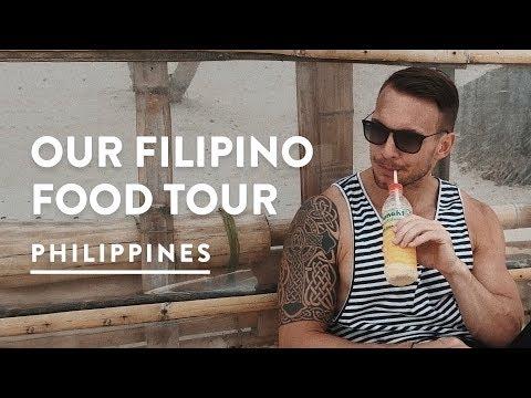 PHILIPPINES FOOD TOUR DIY - BORACAY MUST EATS | Philippines Travel Vlog 100, 2017