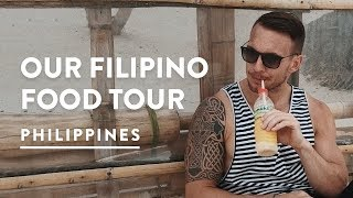 PHILIPPINES FOOD TOUR DIY - BORACAY MUST EATS | Philippines Travel Vlog 100, 2017