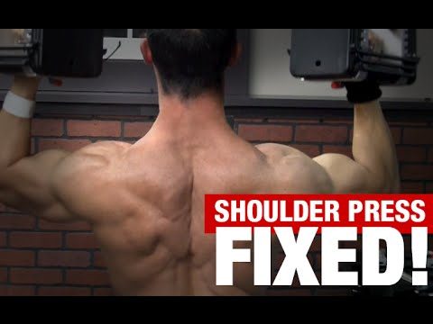 Overhead Shoulder Press (3 MISTAKES!)