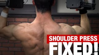 Overhead Shoulder Press (3 MISTAKES!) thumbnail