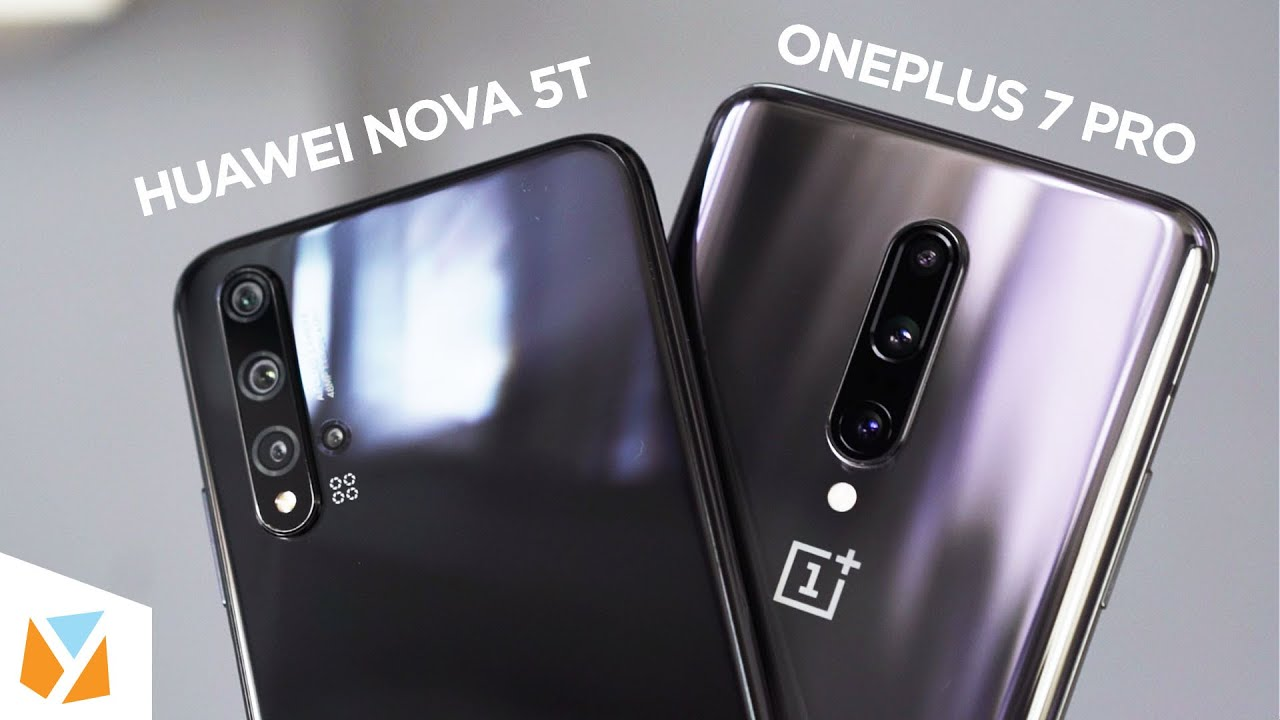 Huawei Nova 5t Vs Oneplus 7 Pro Comparison Review