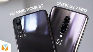 Huawei Nova 5T vs OnePlus 7 Pro Comparison Review