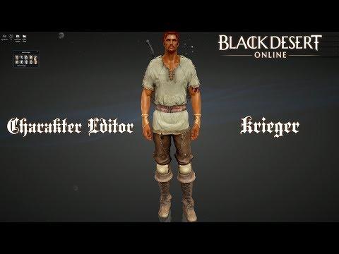 [2160p/60FPS]Black Desert Online - Charakter Editor: Krieger