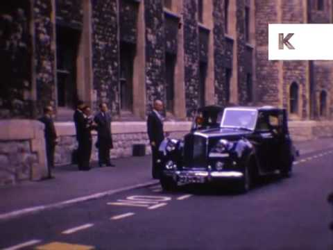 1960s London, Queen Elizabeth II Visits New Jewel House, Rare Home Movie Footage