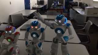 artificial intelligence humanoid robot exhibits a moment of self awareness