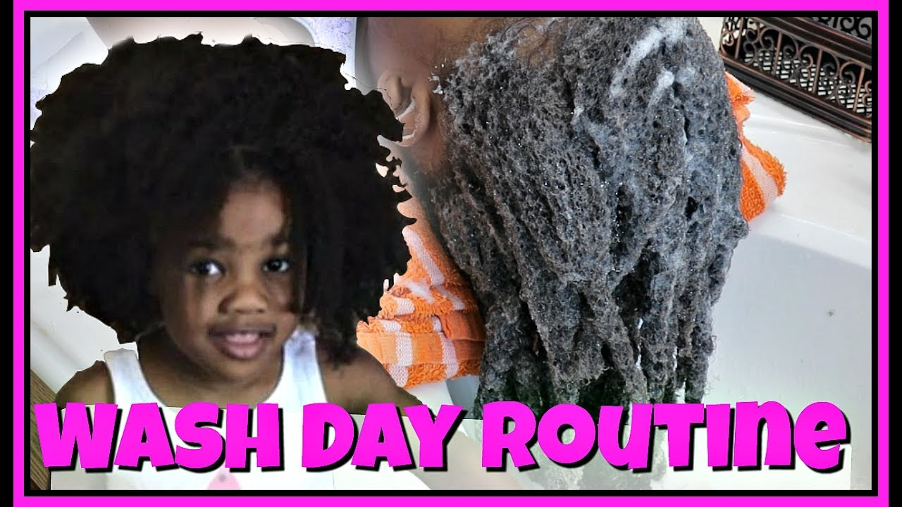 Toddler Wash Routine ft Tailored Beauty