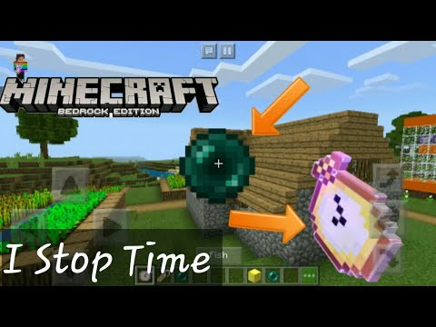 Working Stop Time Clock Using COMMAND block by FunctionCraft