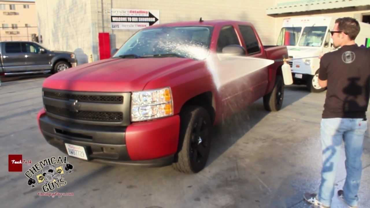 Plasti Dip In A Car Wash