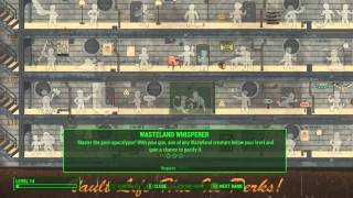 Fallout 4 - Развитие персонажа и система перков На русском