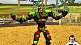 Real Steel World Robot Boxing - Crazy Aqua Bot - 2019 Real Boxing Robots