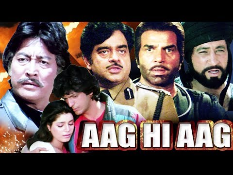 Aag Hi Aag Full Movie | Dharmendra Hindi Action Movie | Shatrughan Sinha | Bollywood Action Movie