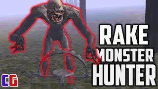 Скачать Я ПОЧТИ ПОЙМАЛ ЕГО Охота на САМОГО ОПАСНОГО РЕЙКА Игра Rake Monster Hunter от Cool GAMES