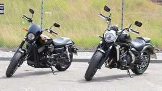 Test: Kawasaki Vulcan S vs. Harley-Davidson 750 Street