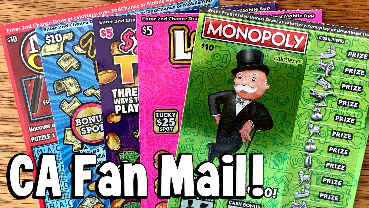 Feeling Lucky? **FINALLY!** MONOPOLY, Mega 7's + Lady Luck! ★ CA LOTTERY  SCRATCHERS