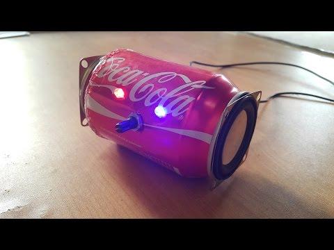 Speaker Coca-Cola - How to build speaker with Coca-Cola cans - Creative Ideas