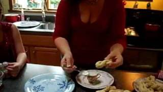 Italian American Kitchen Making Italian Knot Cookies