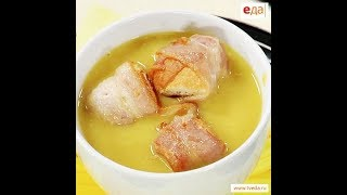 Суп из красной чечевицы и гренки с беконом от Ильи Лазерсона / Обед безбрачия / турецкая кухня