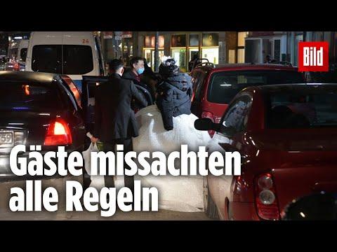 Polizei sprengt Hochzeitsfeier mit 60 Gästen  Berlin