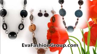 Wholesale fashion jewelry and hair accessories =EvaFashionGroup.com Thumbnail