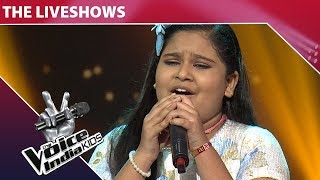 Sneha Shankar Performance On Tu Kitni Achhi Hai | The Voice India Kids | Episode 20