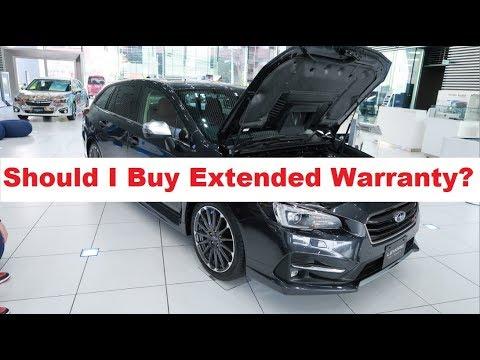 Subaru Wrx Should I Extended Warranty