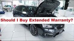 Subaru WRX - Should I Buy Extended Warranty?