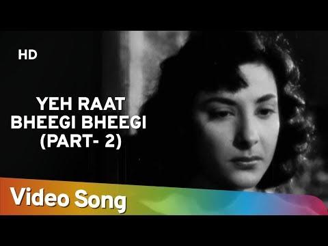 Yeh Raat Bheegi Bheegi (HD) | Chori Chori (1956) | Raj Kapoor | Nargis