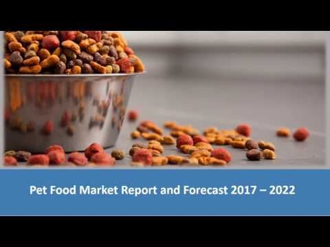Pet Food Market Share, Size, Trends | Industry Report 2017-2022