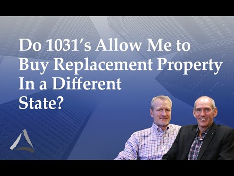 Do 1031 Exchange Options Allow Me to Acquire Replacement Property In a Different State?