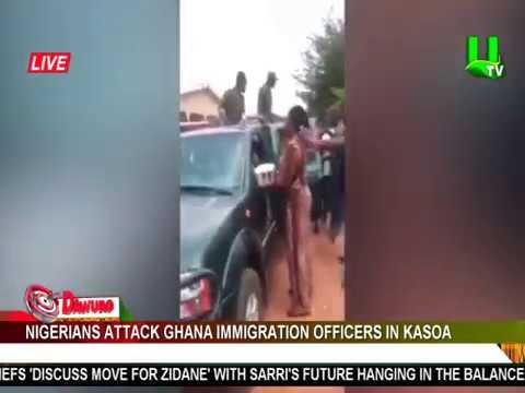Nigerians attack Ghana Immigration officers in Kasoa