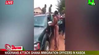 Nigerians attack Ghana Immigration officers in Kasoa