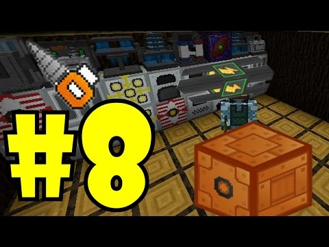 Minecraft Industrial #8 - Cabeamento / Boxes / Mining Drill [ModPack 1.7.10]