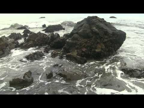 """Wave Sounds"" 60min ""Sleep Video"" Muir Beach"